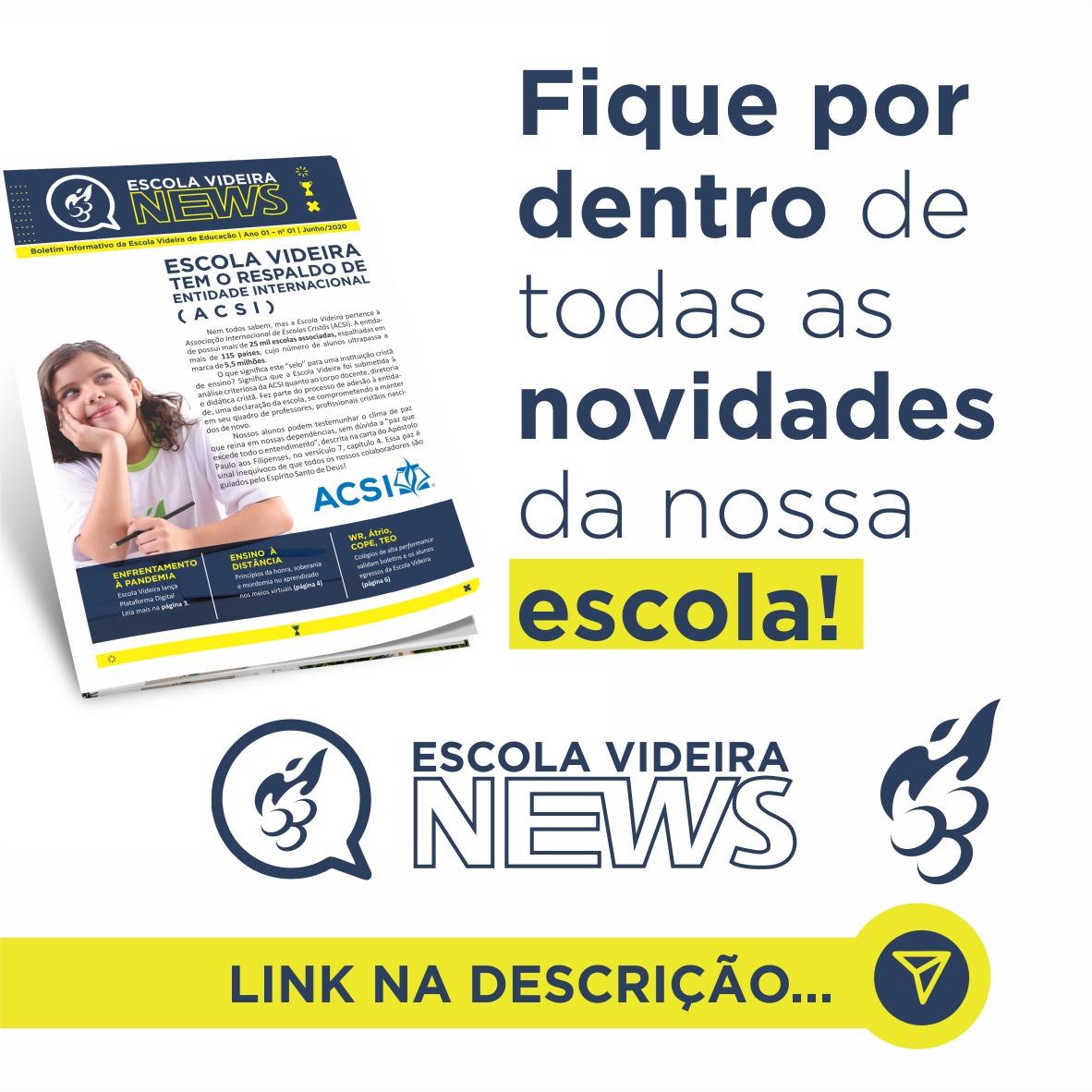 ESCOLA VIDEIRA NEWS
